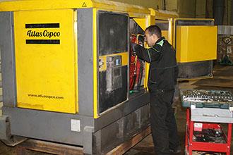 Дизельные генераторы Atlas Copco
